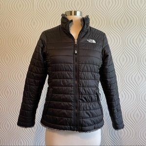 The North Face Girls Reversible Jacket, size Large